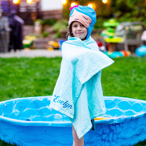 Personalized Hooded Towel for Kids