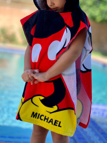 Personalized Disney Towel
