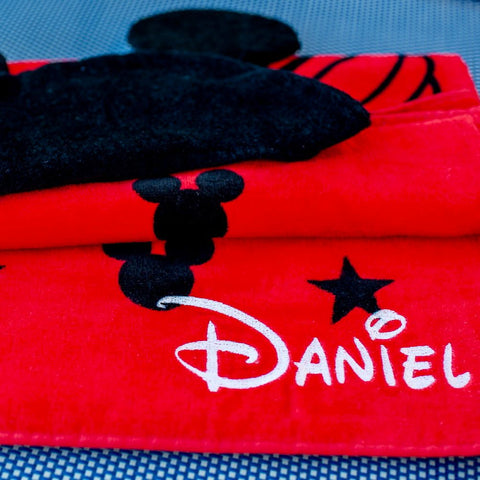 Personalized Embroidery Disney Towel for Kids