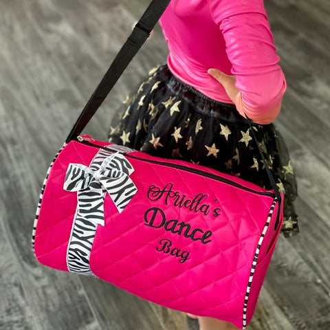 Personalized Dance Duffel Bag for Kids