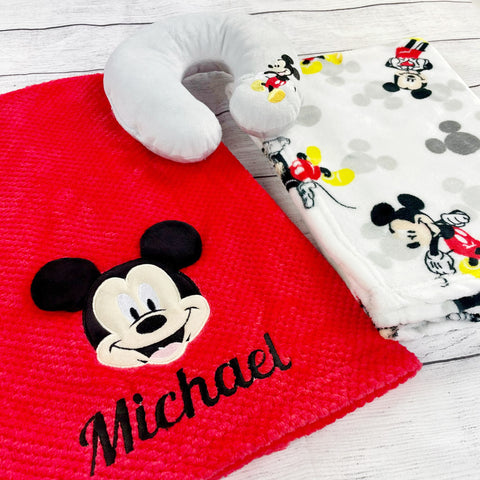 Personalized Disney Baby Gift Set Mickey Mouse