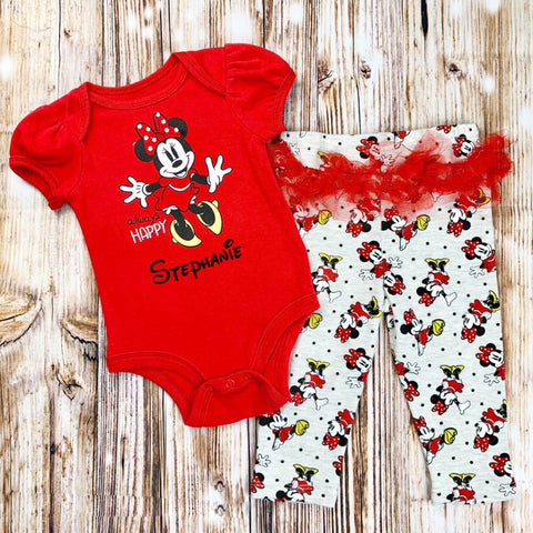 Personalized Baby Apparel Disney