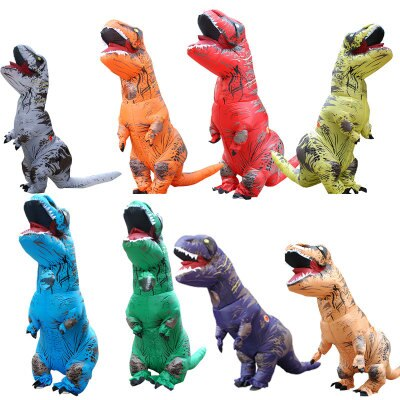dult Fantasy T REX Inflatable Costume Halloween Cosplay t rex Costumes Dinosaur Costume Party Fancy Dress for Men Women
