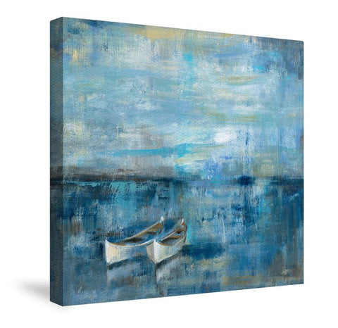 Two Boats Canvas Wall Art