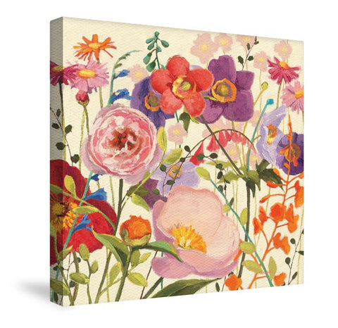 Blossoming Printemps II Canvas Wall Art