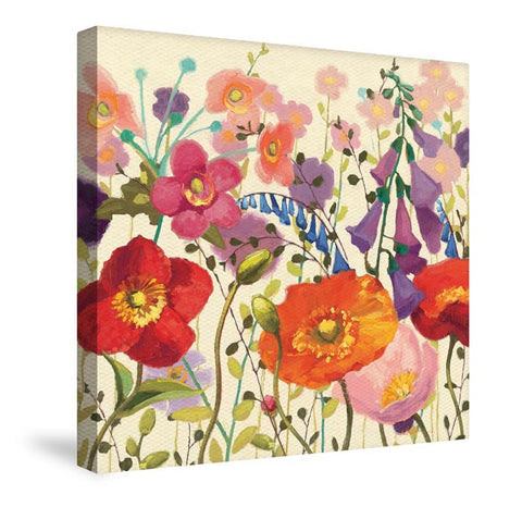 Blossoming Printemps III Canvas Wall Art