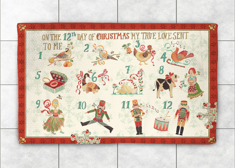 12 Days Accent Rug