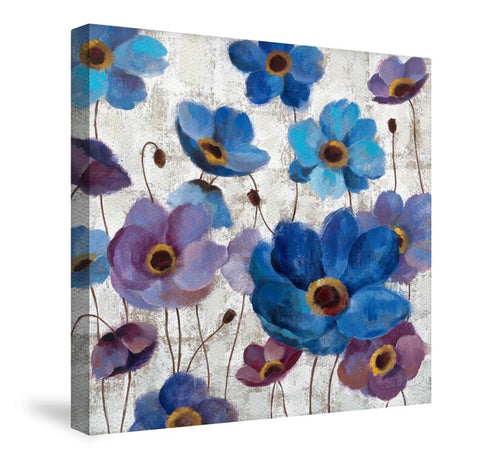 Bold Anemones I Canvas Wall Art