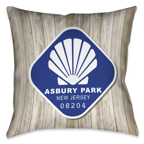 Asbury Park Indoor Decorative Pillow