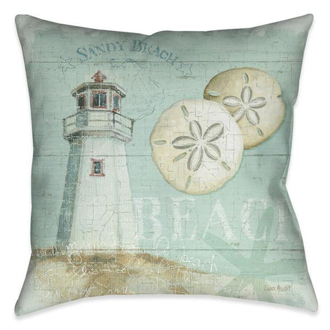 Beach House I Indoor Decorative Pillow