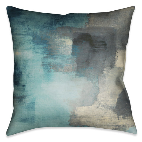 Blue Rain Indoor Decorative Pillow