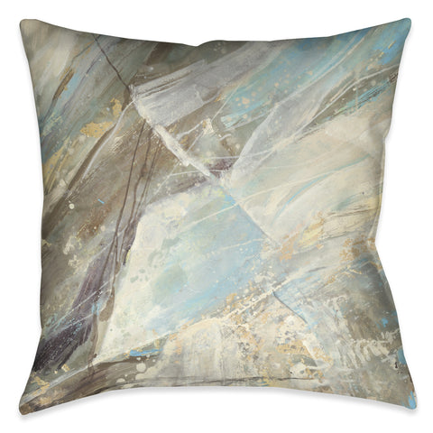Mineral Blue Indoor Decorative Pillow