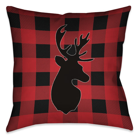 Buffalo Check Indoor Decorative Pillow