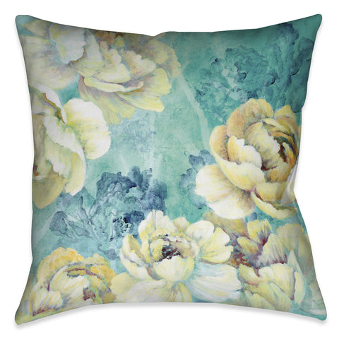 Floral Chic Indoor Decorative Pillow