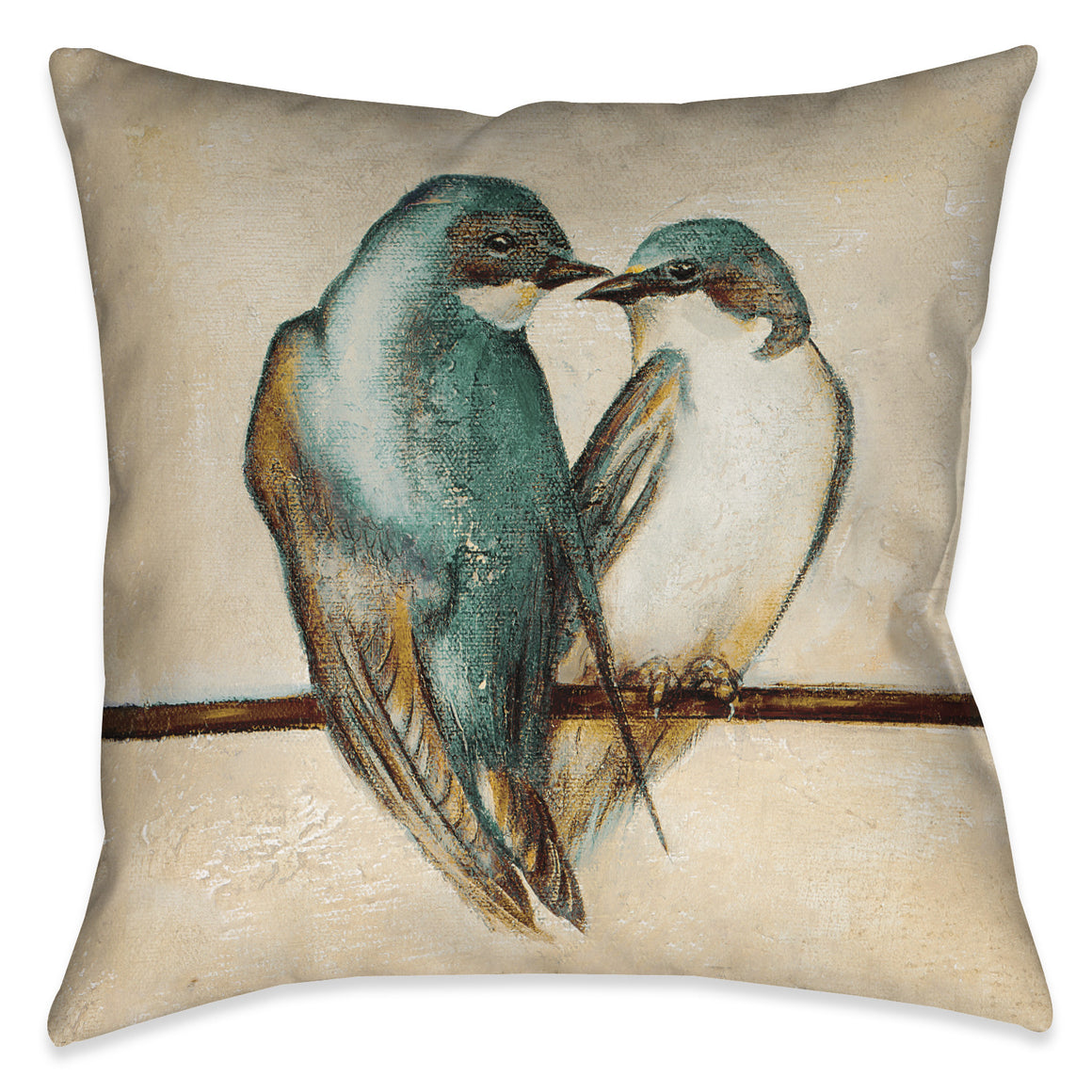 Gleeful Square Indoor Decorative Pillow