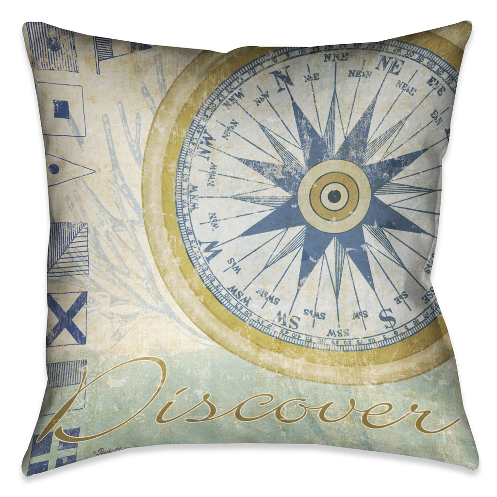 Mariner Sentiment IV Indoor Decorative Pillow