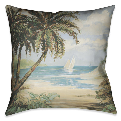 Palm Bay Indoor Decorative Pillow