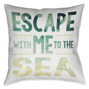 Sea Escape Indoor Decorative Pillow