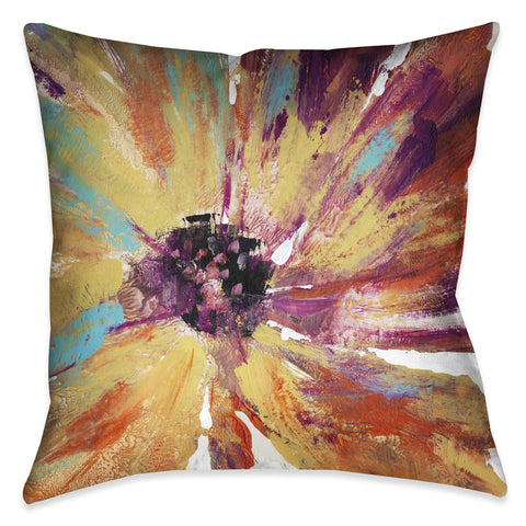Sunset Daisy Indoor Decorative Pillow