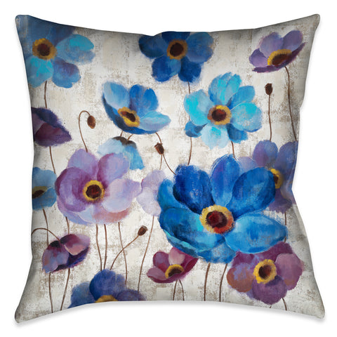 Bold Anemones I Indoor Decorative Pillow
