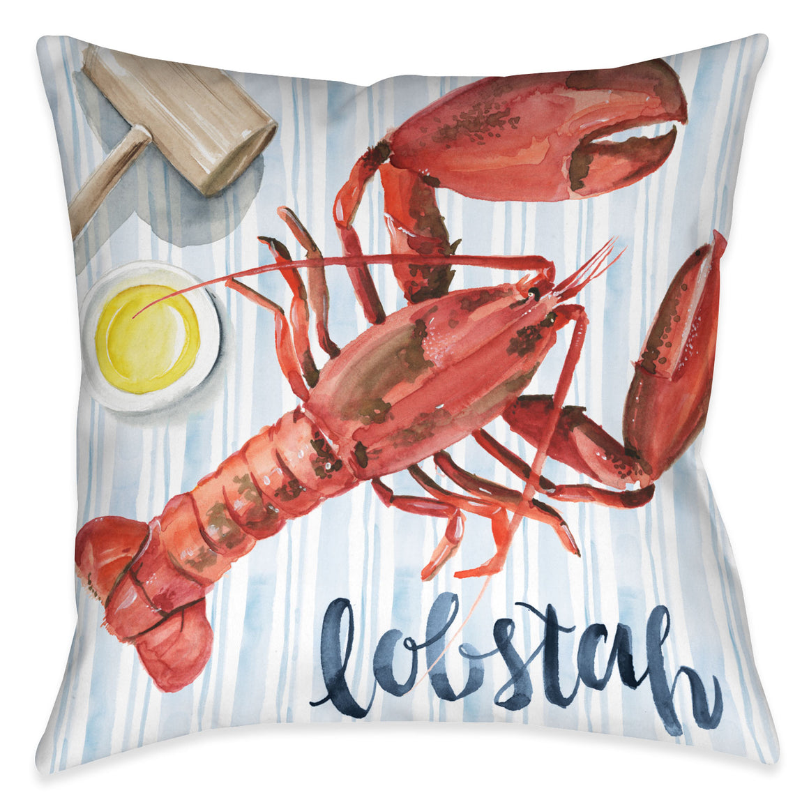 New England Summer II Outdoor Decorative Pillow