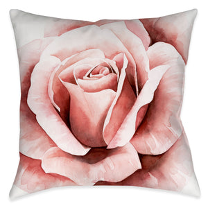 Pink Rose II Indoor Decorative Pillow