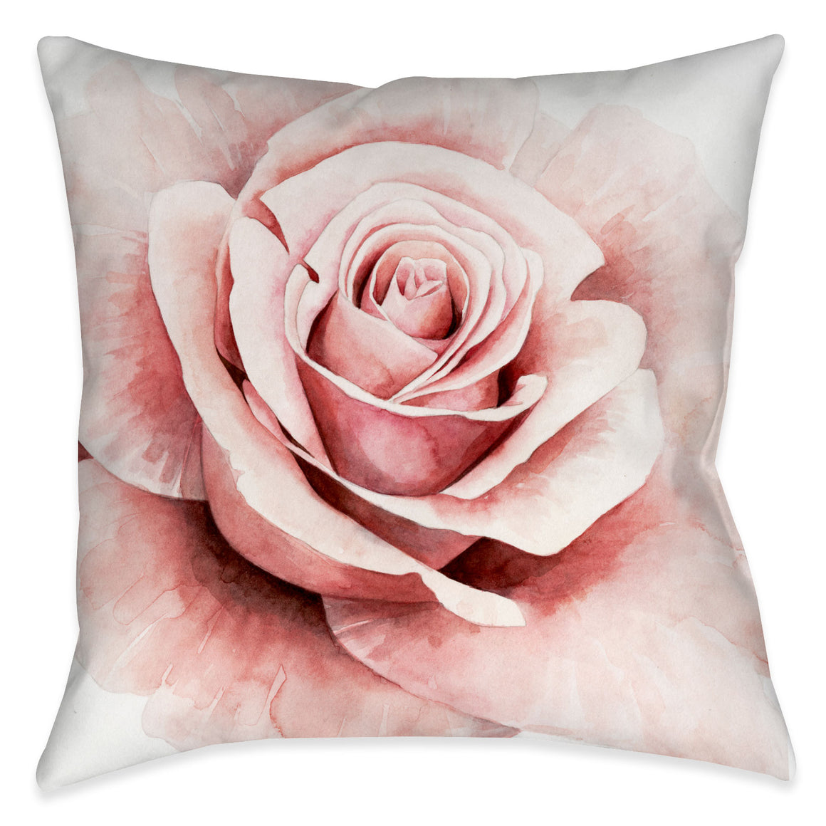 Pink Rose I Indoor Decorative Pillow