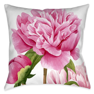 Winsome Peonies II Indoor Decorative Pillow