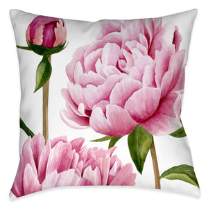 Winsome Peonies I Indoor Decorative Pillow