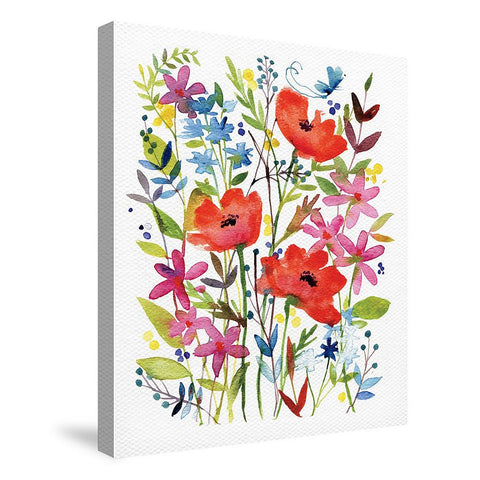Anne's Flowers Canvas Wall Art