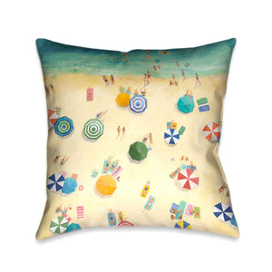 Summer Fun Indoor Decorative Pillow