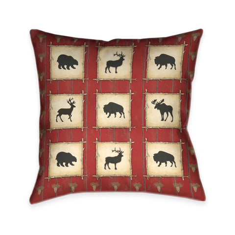 Red Lodge Indoor Decorative Pillow