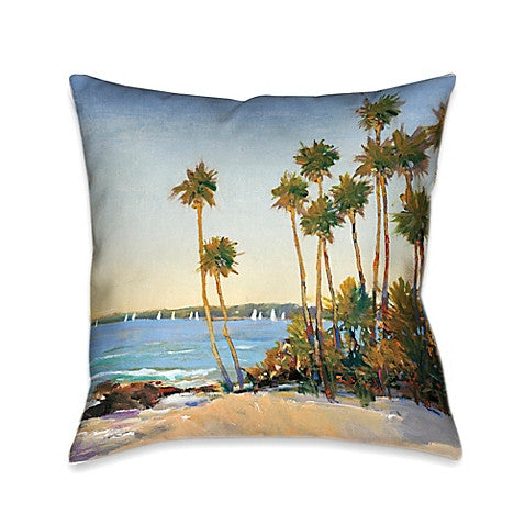 Distant Shore Indoor Decorative Pillow
