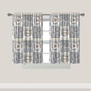 Loving Home Window Curtain Set Of 2
