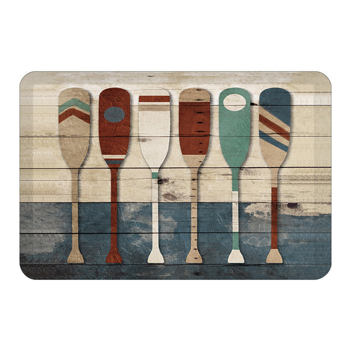 Playful Oars Floor Mat