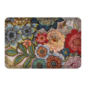 Boho Bouquet  Floor Mat