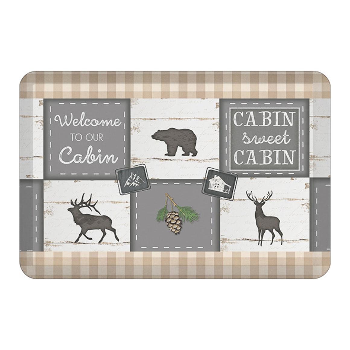 Cabin Living Floor Mat