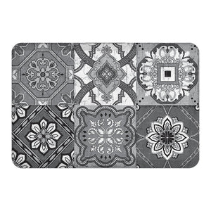 Gray Granada Floor Mat
