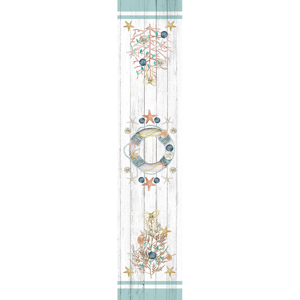 Coastal Christmas Table Runner