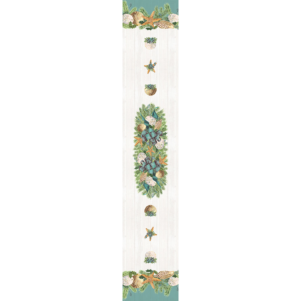 Christmas By The Sea Table Runner