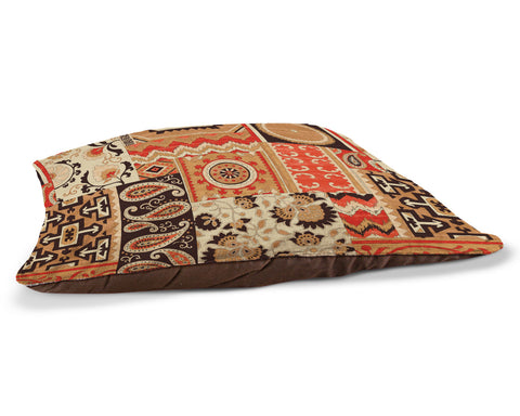 "Southwest Story 30"" x 40"" Fleece Dog Bed"