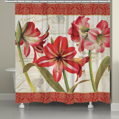 Holiday Garden Shower Curtain