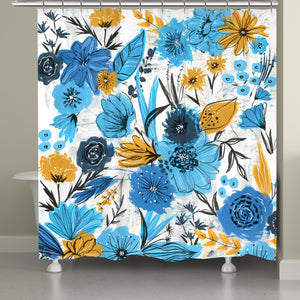 Floral Masterpiece Shower Curtain