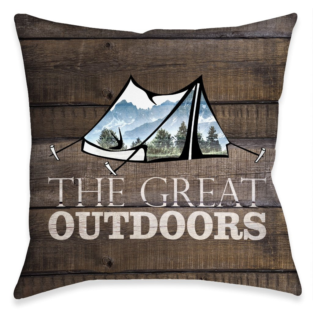 Adventure Outdoors Indoor Decorative Pillow