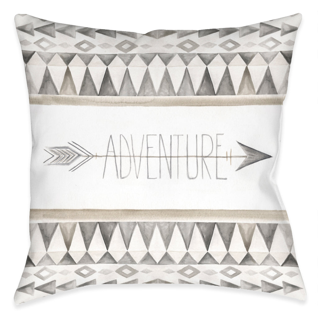 Adventure Outdoor Decorative Pillow