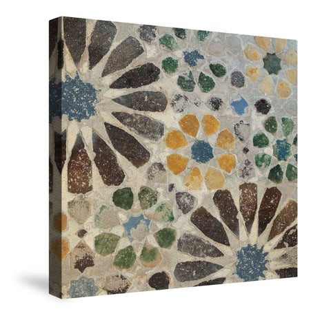 Alhambra Tile I Canvas Wall Art