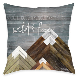All Good Things Outdoor Decorative Pillow