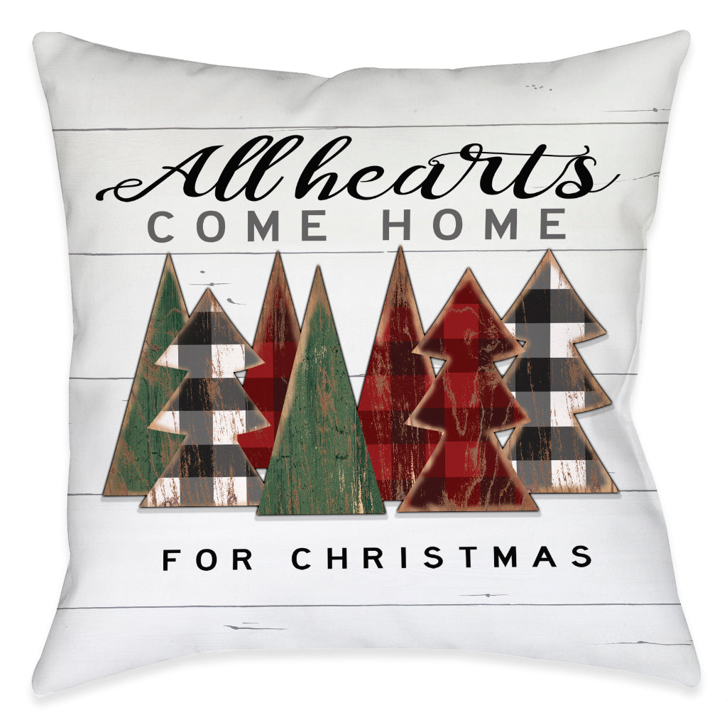 All Hearts Come Home Indoor Decorative Pillow