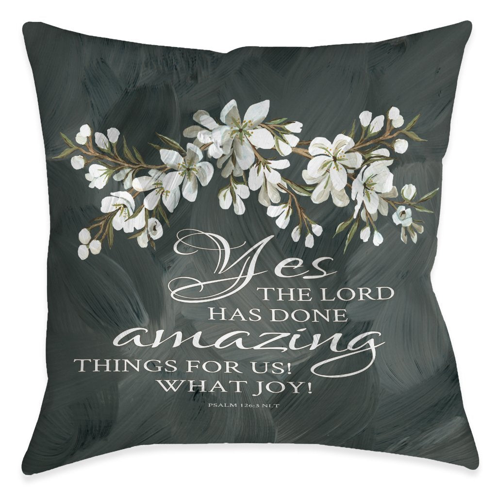 Amazing Things For Us Indoor Decorative Pillow