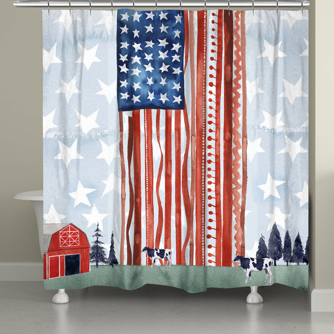 [shower curtains]